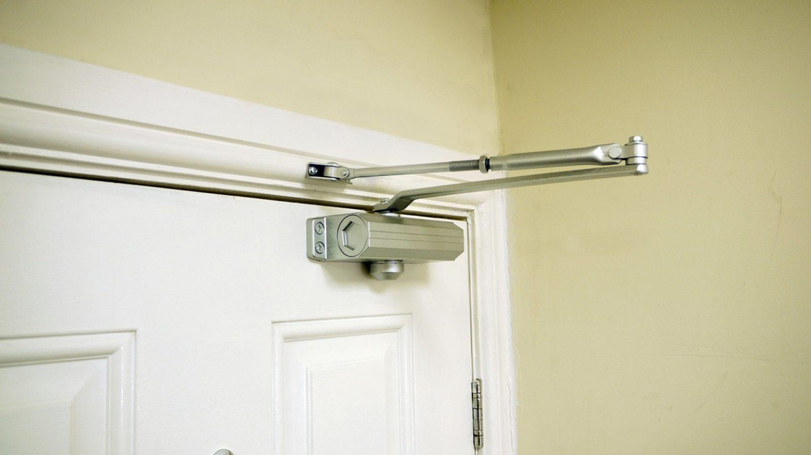 Fire Door Closers : New door closer to complete fire check range double