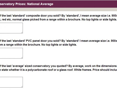 National Average Prices Survey: Results