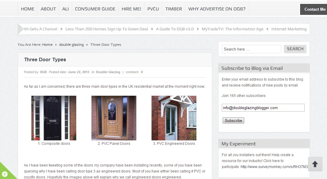 View Larger Image  sc 1 st  Double Glazing Blogger & Three Door Types - Double Glazing Blogger