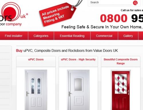 Value Doors UK Launch Next Day Door Service