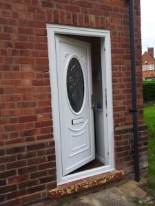New PVC door