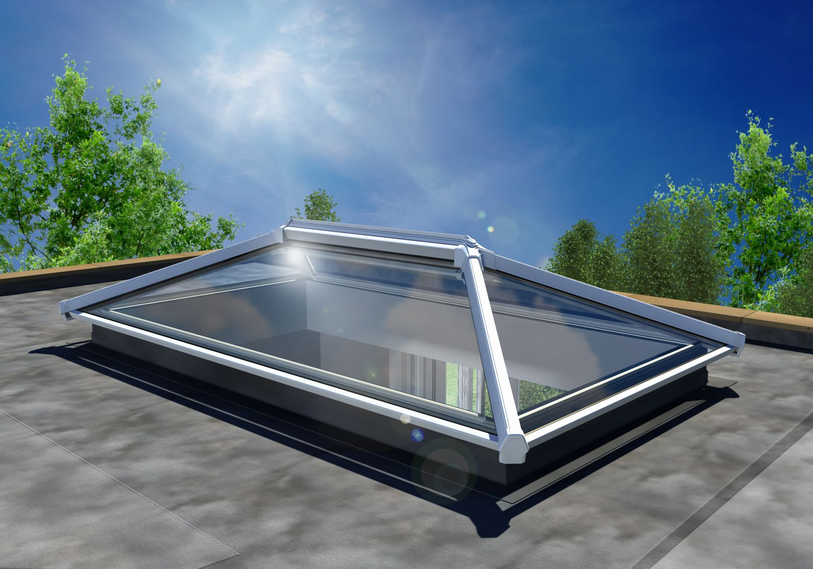 Roofs Lantern Roofs For Flat Roof