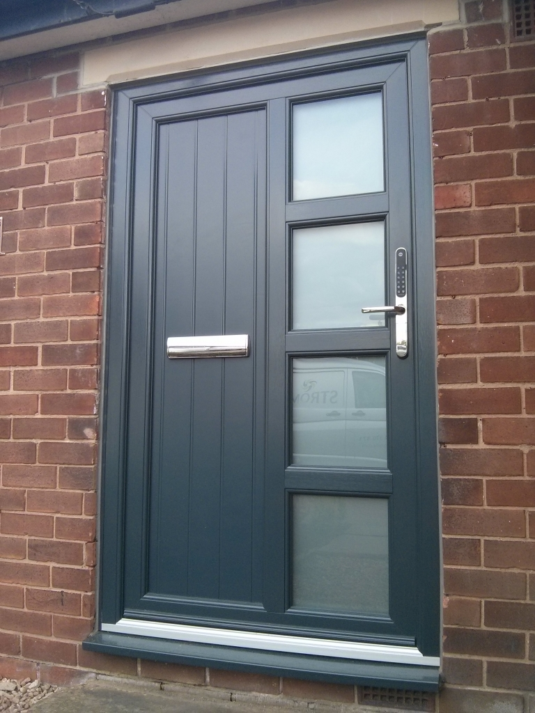 ... not only because of their funky designs but the fact that each of these doors were sprayed to the liking of the home owner. Composite door ... & Where Is The Future For Composite Doors? - Double Glazing Blogger