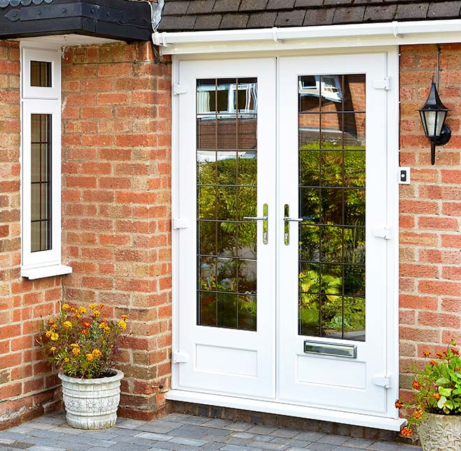 Choosing the right front door for a standout entrance for Upvc french doors with cat flap
