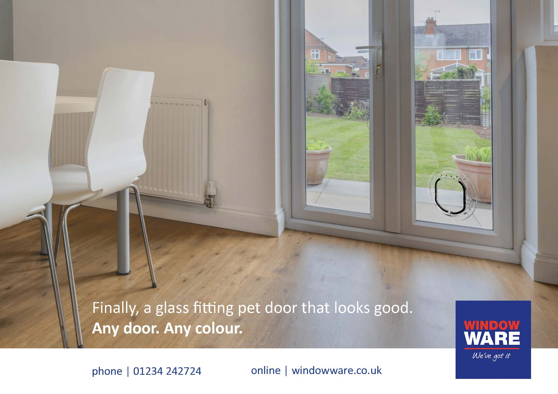 Finally A Glass Fitting Pet Door That Looks Good In All Doors Any