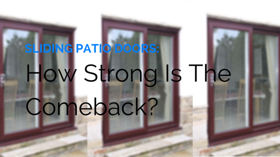 sliding patio doors how strong is the comeback double glazing