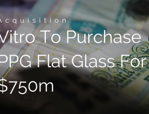 Huge Deal Done In US As Vitro To Purchase PPG Flat Glass Operations
