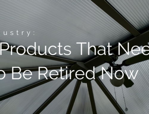 Three Fenestration Products That Need To Be Retired Right Now