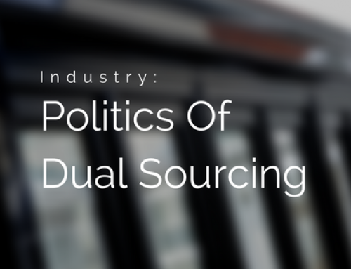 The Politics Of Dual Sourcing