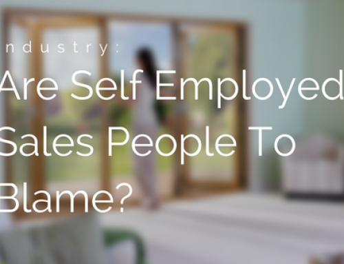 Is The Industry's Bad Reputation Down To Self Employed Sales People?