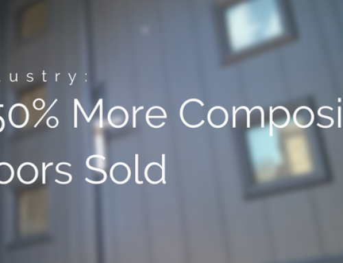 We've Sold 250% More Composite Doors This Year