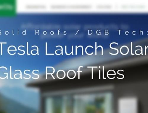 Tesla Announces Solar Powered Roof Tiles