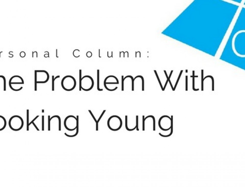 Personal Column: The Problem With Looking Young