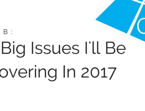 Five Big Fenestration Issues I'll Be Covering In 2017