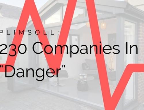 Plimsoll: 230 Window And Door Companies In Danger