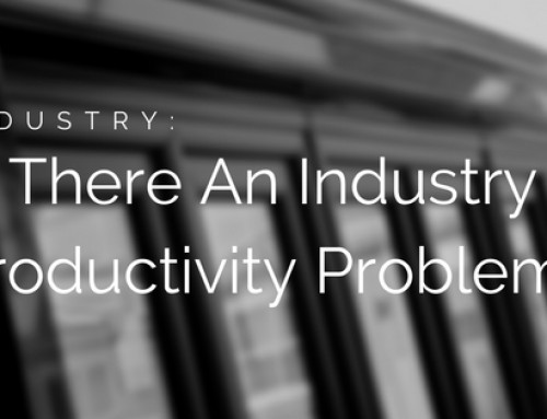 Does Our Industry Have A Productivity Problem?