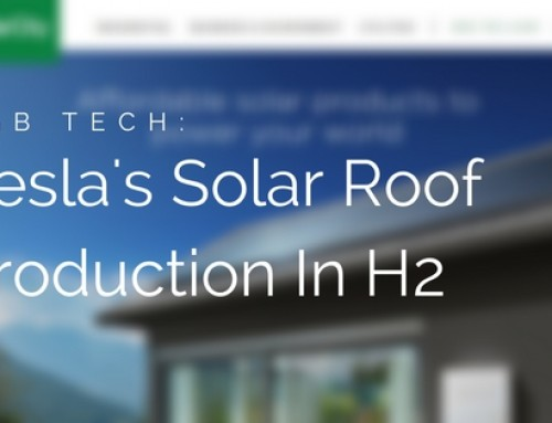DGB Tech: Tesla's Revolutionary Solar Roof To Launch In Second Half Of 2017