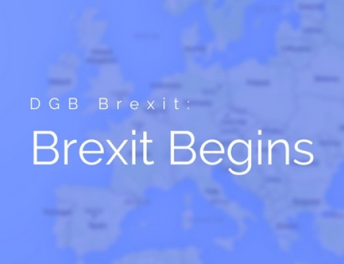 DGB Brexit: Article 50 Triggered Today