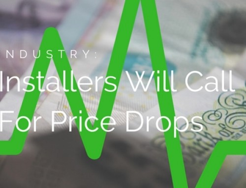 Installers Will Demand Prices Fall, If Sterling Recovers