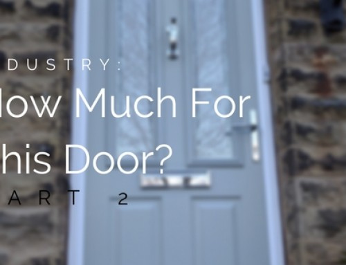 How Much Would You Charge A Home Owner For This Composite Door?