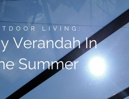 My Prefix Verandah In The Summer