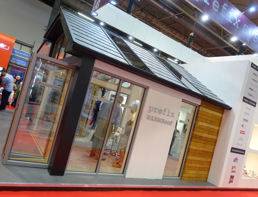 Outdoor Living, New Residential Glazing And Hybrid WARMroof, All Shine For Prefix