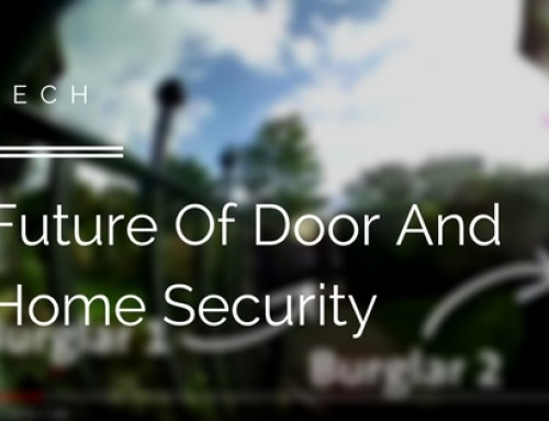 This Video Demonstrates The Future Of Door And Home Security
