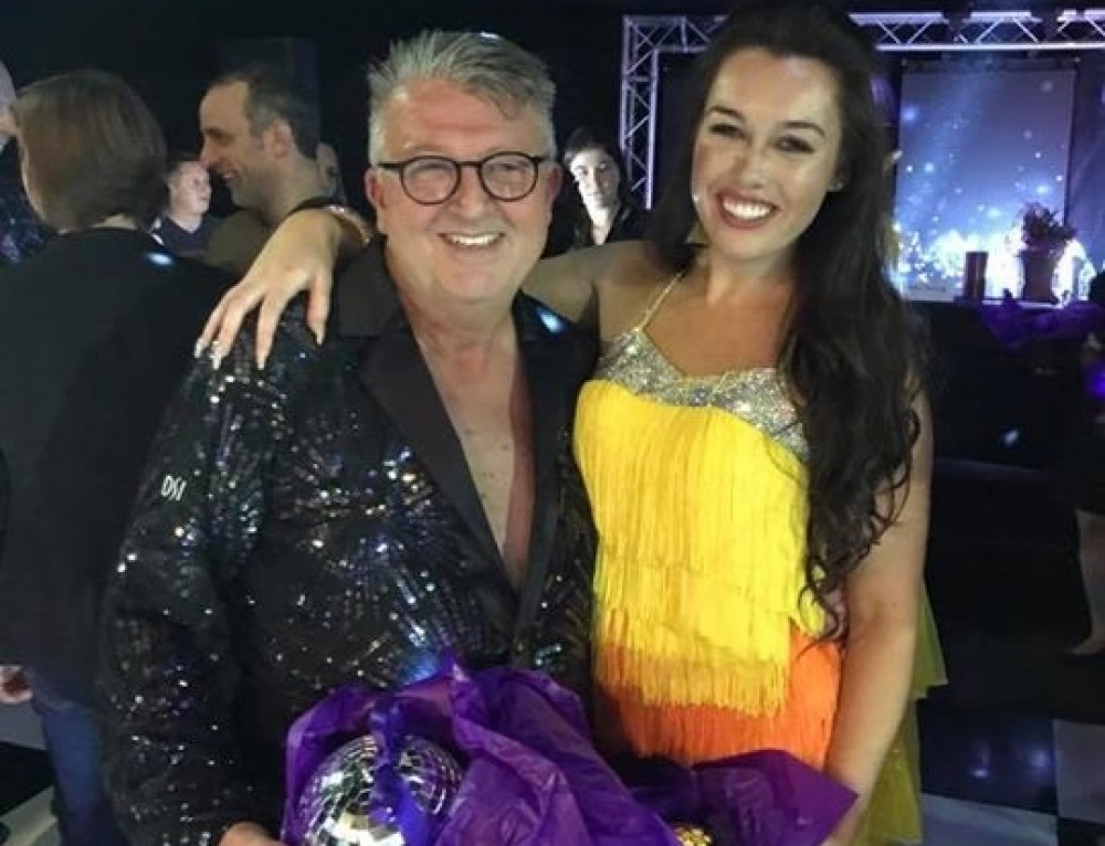 Morley MD Lifts Strictly Ballroom Trophy And Raises £10,000 For Variety Children's Charity