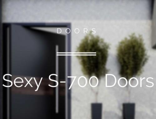 Spitfire's New S-700 Pivot Doors Look Damn Sexy