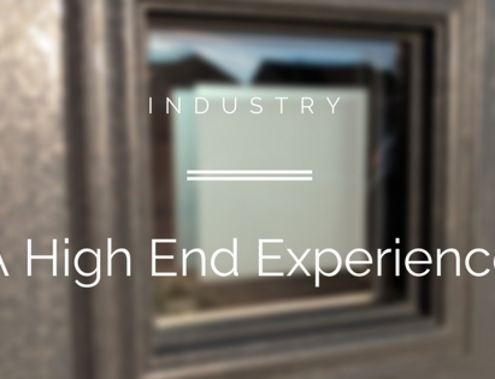 A High End Product Needs A High End Experience