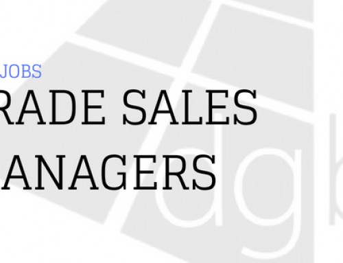 DGB Jobs: Trade Sales Managers