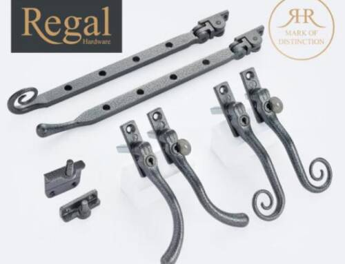 Add Heritage Style To Any Window With Window Ware's New And Exclusive Regal Hardware Range