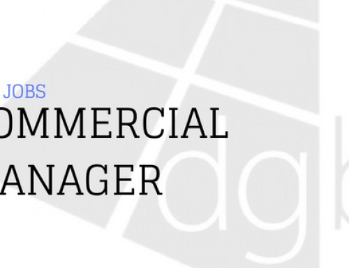 DGB Jobs: Commercial Manager