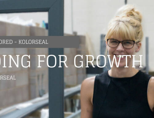 Kolorseal Going For Growth