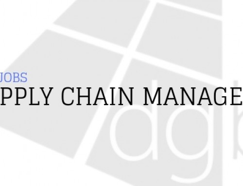 DGB Jobs: Supply Chain Manager