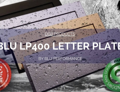 DGB Products: Blu LP400 Letter Plate Delivers Outstanding Performance And Best In Class Results