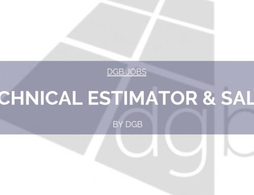 DGB Jobs: Technical Estimator & Sales