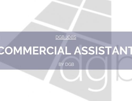 DGB Jobs: Commercial Assistant