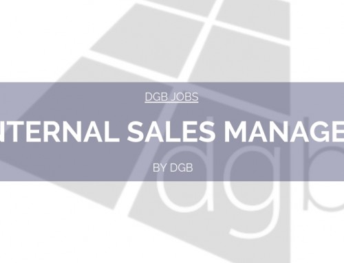 DGB Jobs: Internal Sales Manager