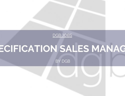 DGB Jobs: Specification Sales Manager