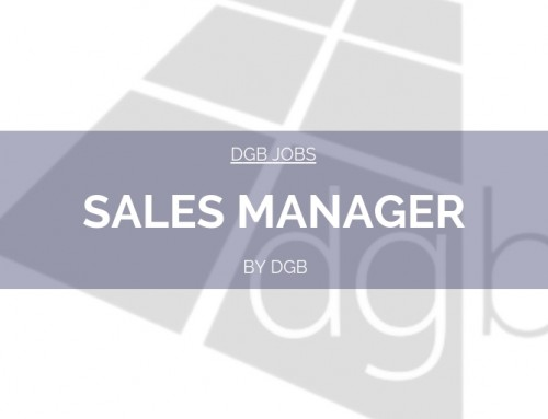 DGB Jobs: Sales Manager