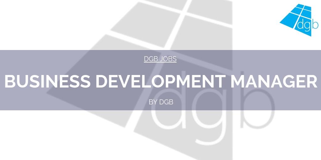 Dgb Jobs Business Development Manager Double Glazing