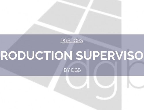 DGB Jobs: Production Supervisor
