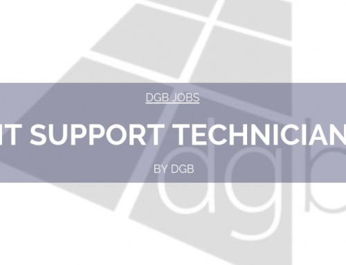 DGB Jobs: IT Support Technician