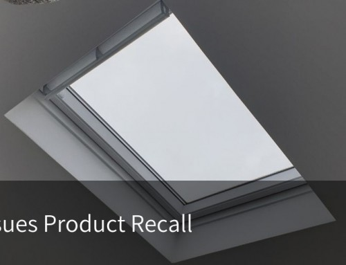Velux Issues Product Recall