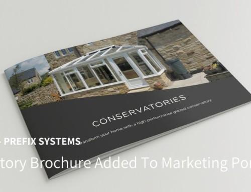 Prefix Adds Conservatory Brochure To Marketing Portfolio