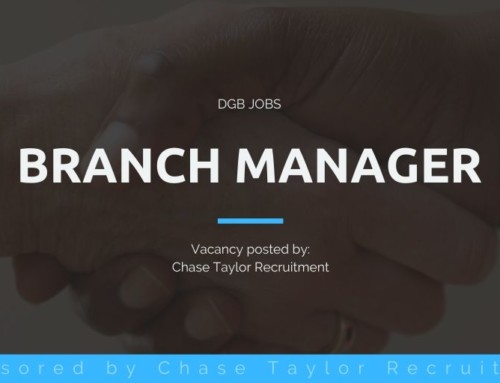 DGB Jobs: Branch Manager