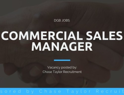 DGB Jobs: Commercial Sales Manager