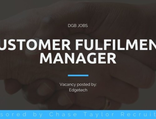DGB Jobs: Customer Fulfilment Manager