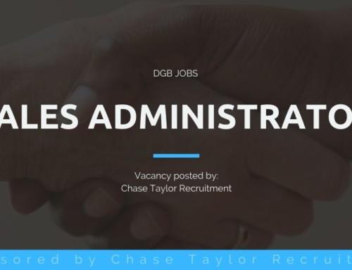 DGB Jobs: Sales Administrator